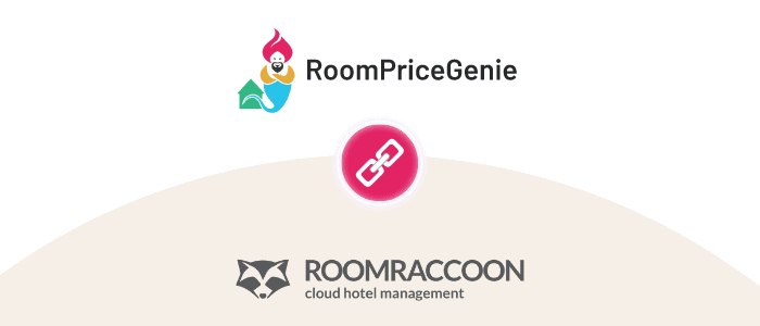 RoomRaccoon and RoomPriceGenie – a match made in room heaven